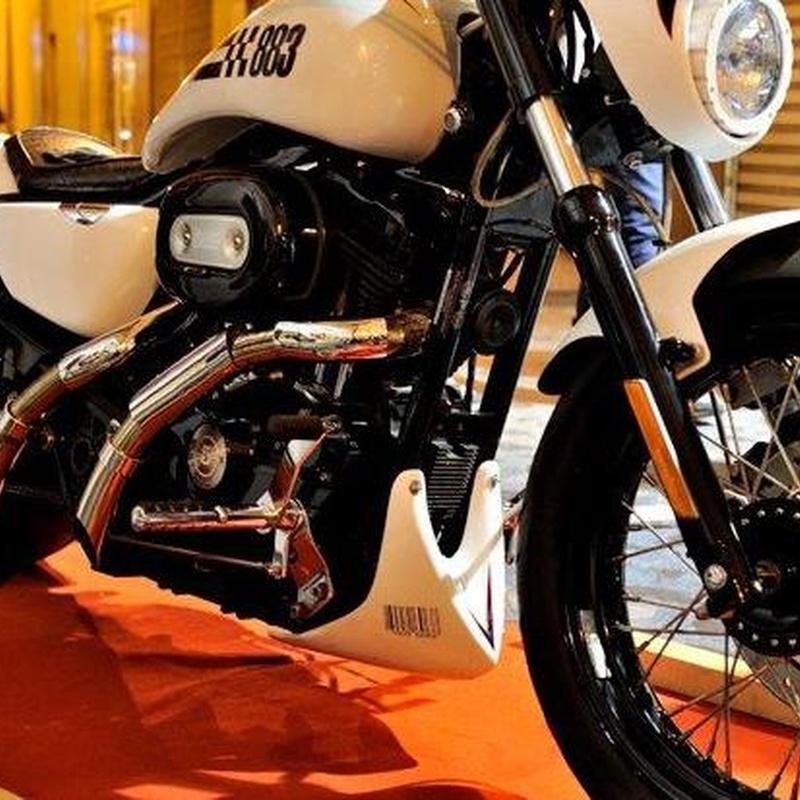 Transformacion moto custom,transformacion Harley Davidson,transformacion sportster,tranformacion drag style,transformacion Break Skull Choppers