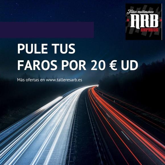 PUESTA A PUNTO DE ELEMENTOS DE CARROCERÍA: Taller  de Talleres Multimarca ARB Express