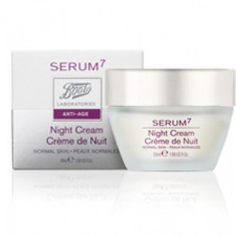 Serum 7 Antiedad crema de noche regeneradora: Catálogo de Farmacia Las Cuevas-Mª Carmen Leyes
