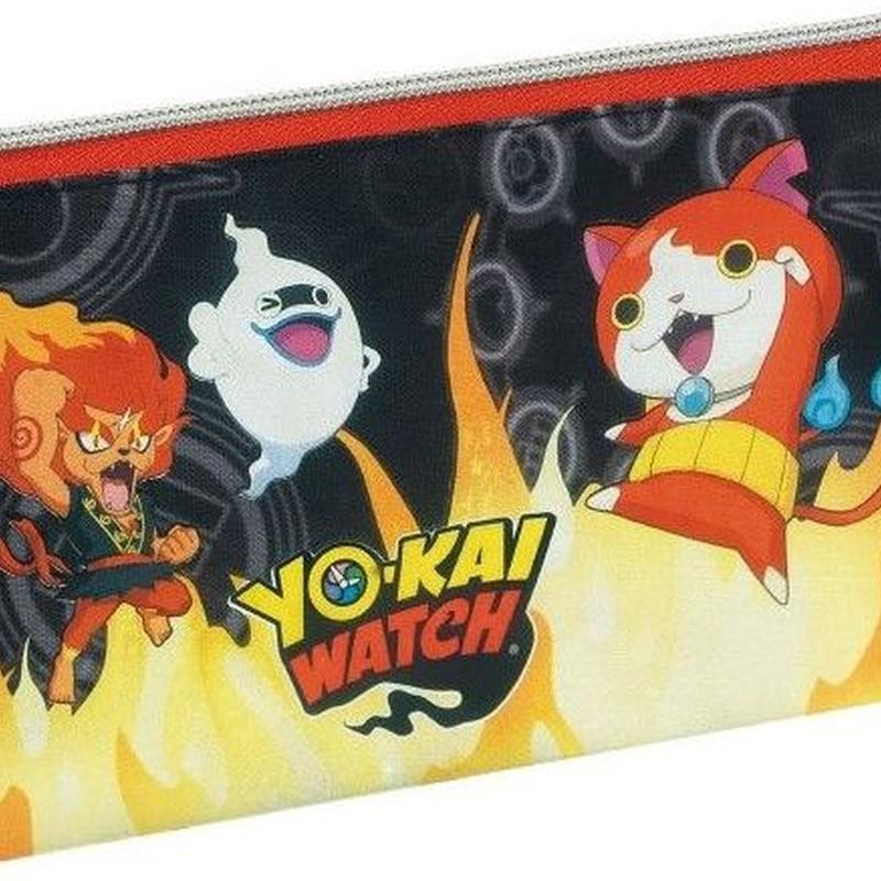 Portatodo triple Yo-Kai Watch. 8412782070089