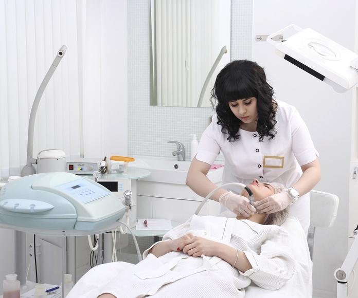 Tratamientos faciales: Servicios de Centro de Estética Asmara