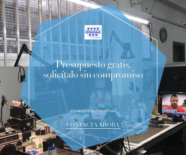 Reparación de antenas en el Barrio del Pilar | Ruimorma