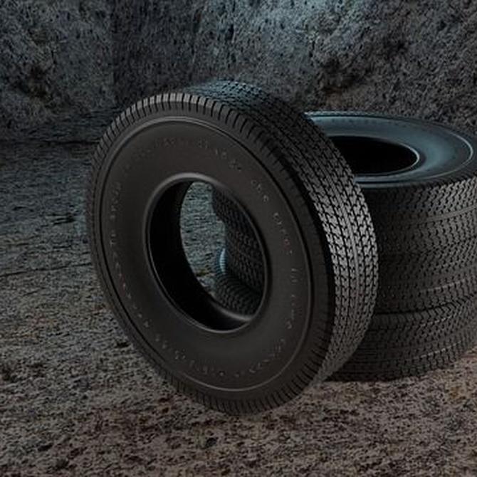El origen del neumático