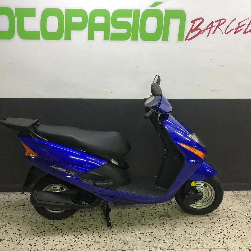 HONDA LEAD 100 : Motos de Motopasión Barcelona