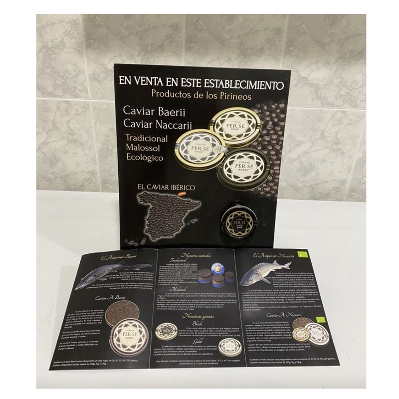 Auténtico caviar del Pirineo: Productos de Pescadería El Faro de la Bozada
