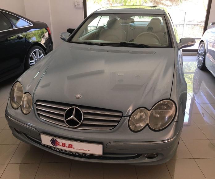 Mercedes Benz CLK-200-k: Coches de B.B.B. Automóviles