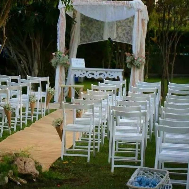 Alquiler de sillas para bodas en Alicante