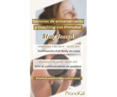Sesiones de entrenamiento y coaching Pronokal