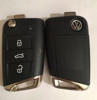 Duplicado de llave con mando Volkswagen, Seat, Skoda