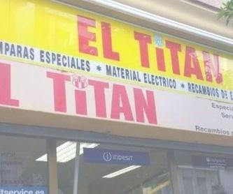 Accesorios lavadoras: Reparaciones de El Titán