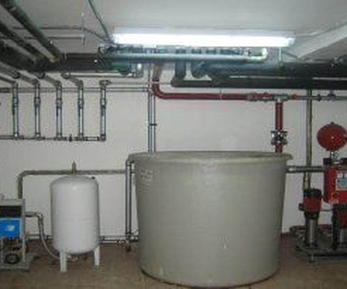 Grupos de presión de agua: Servicios de Revigas