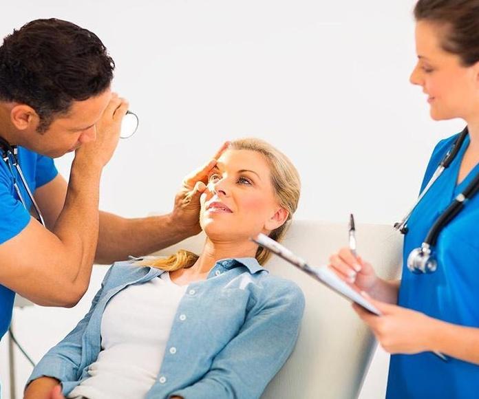 Vista: Servicios de Salud de Sanitas