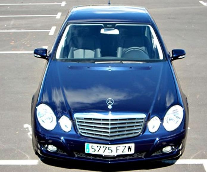 Mercedes-Benz Clase E: Nuestros vehículos de HM LUXURY TRANSPORT