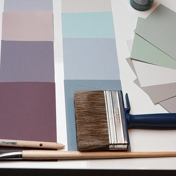 Tipos de pintura para tu hogar