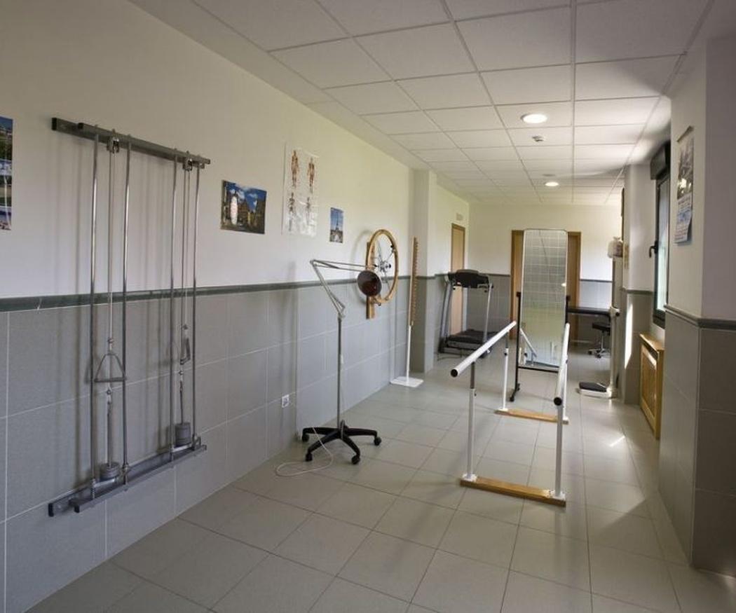 Centro de mayores con fisioterapia