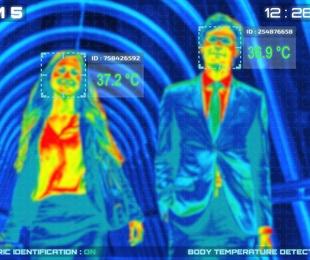 Control de Acceso por temperatura