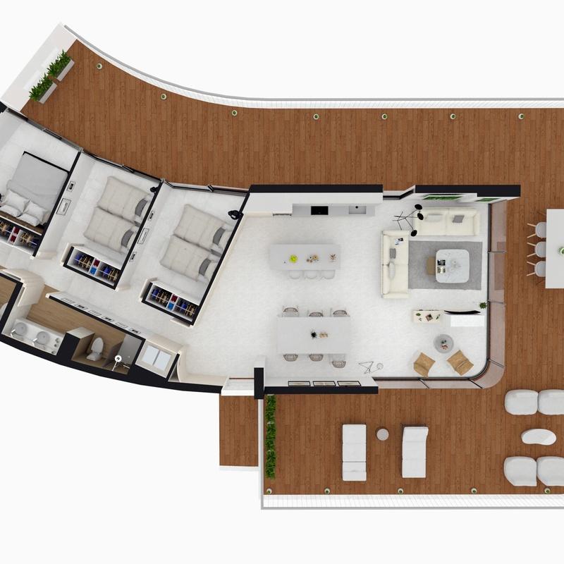 Modelado 3D  y proyectos virtuales: Servicios  de Arquitectura e Ingeniería Planta Gráfica Estudio