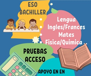 CLASES DE APOYO, PRIMARIA, ESO Y BACHILLER