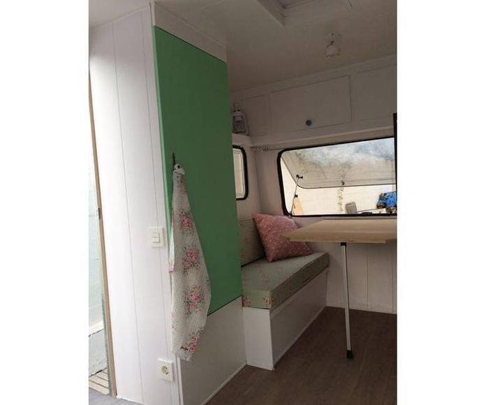 Pintamos una caravana con mucho encanto