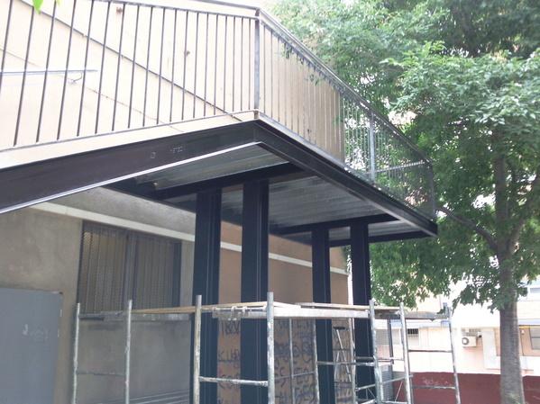 Escaleras Metálicas: Productos de Construcciones Metálicas Zaro, S. L