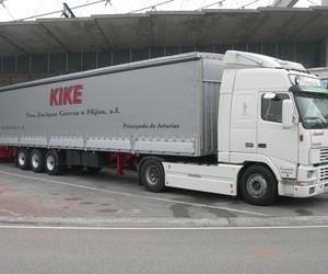 Camión tipo Semi-Tautliner