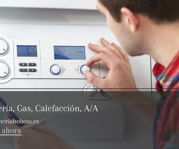 Instalación de gas en Guipúzcoa | Fontanería Hobetu