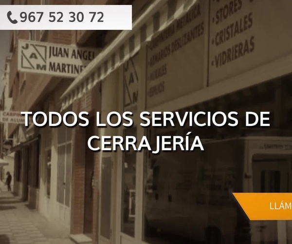 Carpintería de aluminio en Albacete | Juan Ángel Martínez