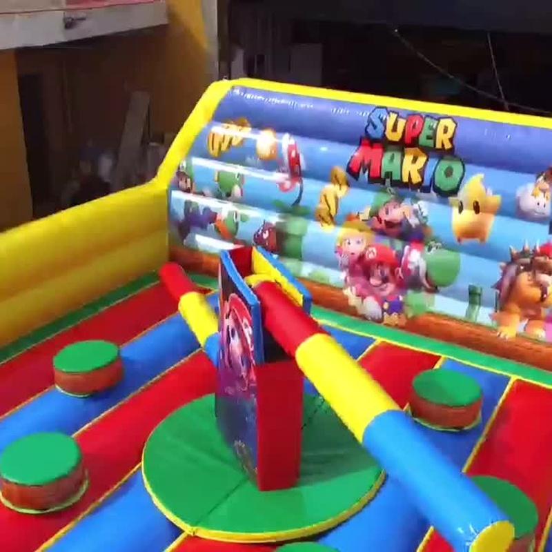 Eliminator MarioBros cuadrada: Catálogo de Hinchables Happy Jump