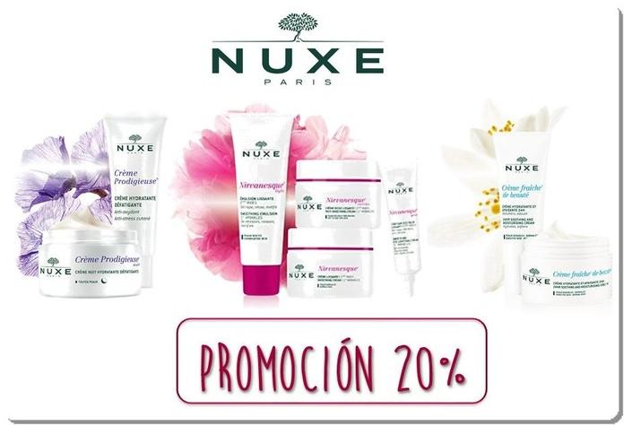 Promoción piel joven Nuxe
