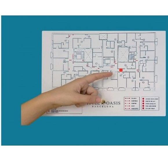Planos de evacuación: Serigrafia en Granollers de Dydplas Serigràfic