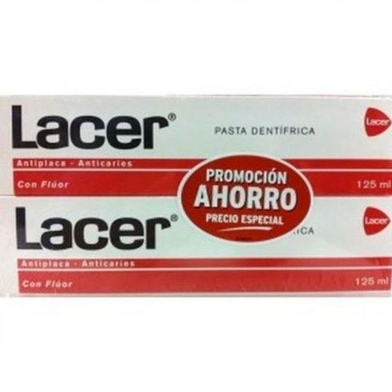 Lacer pasta : Catálogo de Farmacia Las Cuevas-Mª Carmen Leyes