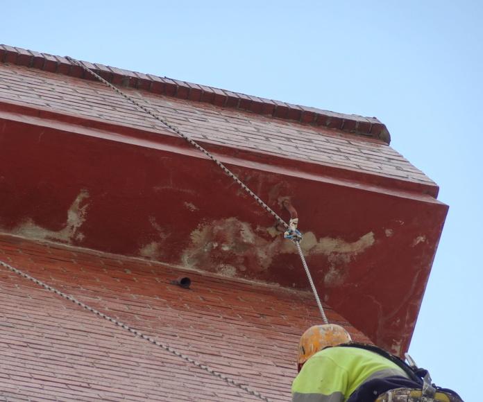 Reparación en altura Torrelavega