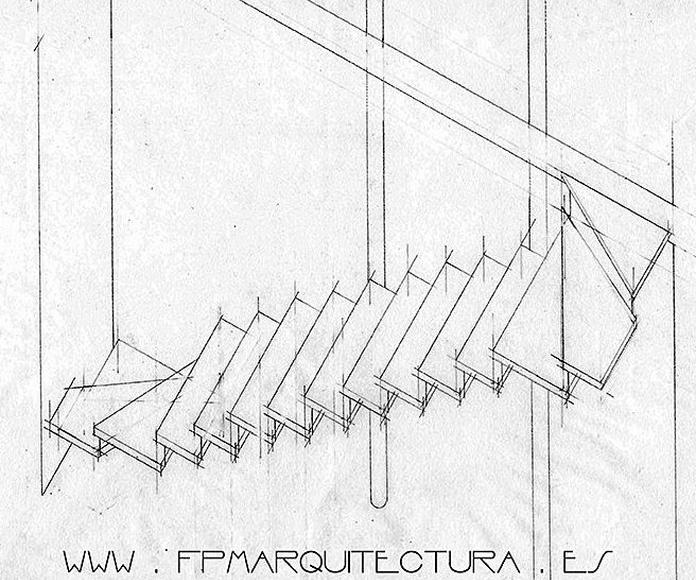 Casa Angel . Architect Sitges FPM Arquitectura  Sitges, : Proyectos  architectsitges.com de FPM Arquitectura