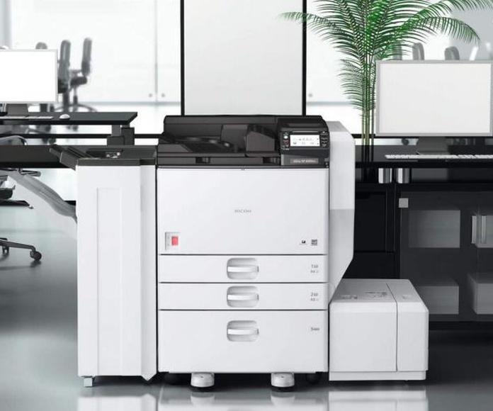 Impresoras A3 mococromo: Nuestros productos de Ricoh