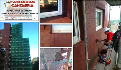 Empresa especializada en la rehabilitación y mantenimiento de edificios en Cantabria.