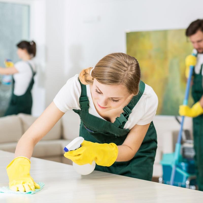 Limpiezas fin de obra: Servicios de MATIS NET Servicios de Limpieza