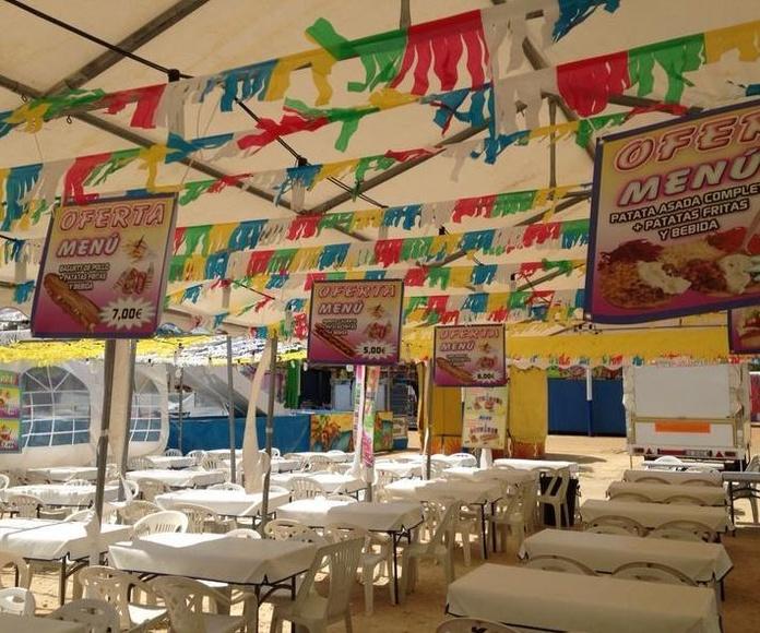 Feria de chiclana 2014: Catálogo de Jedal Alquileres