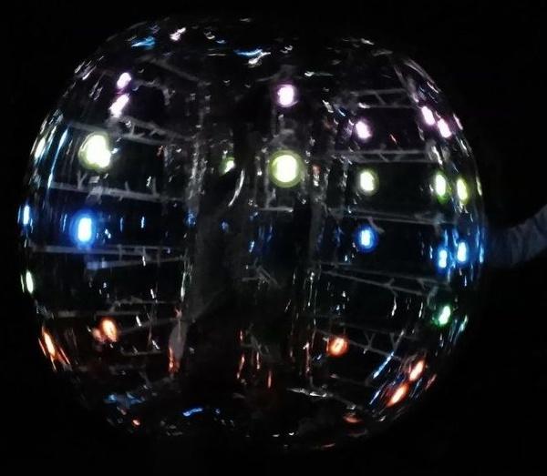 soccer ball con luz