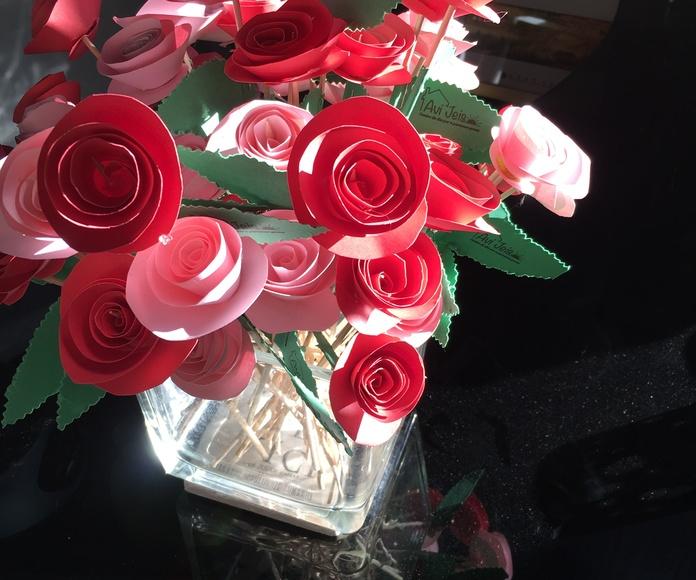 Rosas de regalo para Sant Jordi