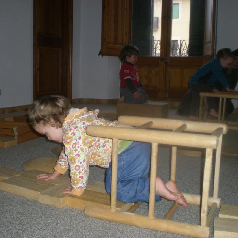 joc motriu de 2-3 anys