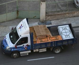 Transporte de mercancías: Servicios de Transportes el murciélago
