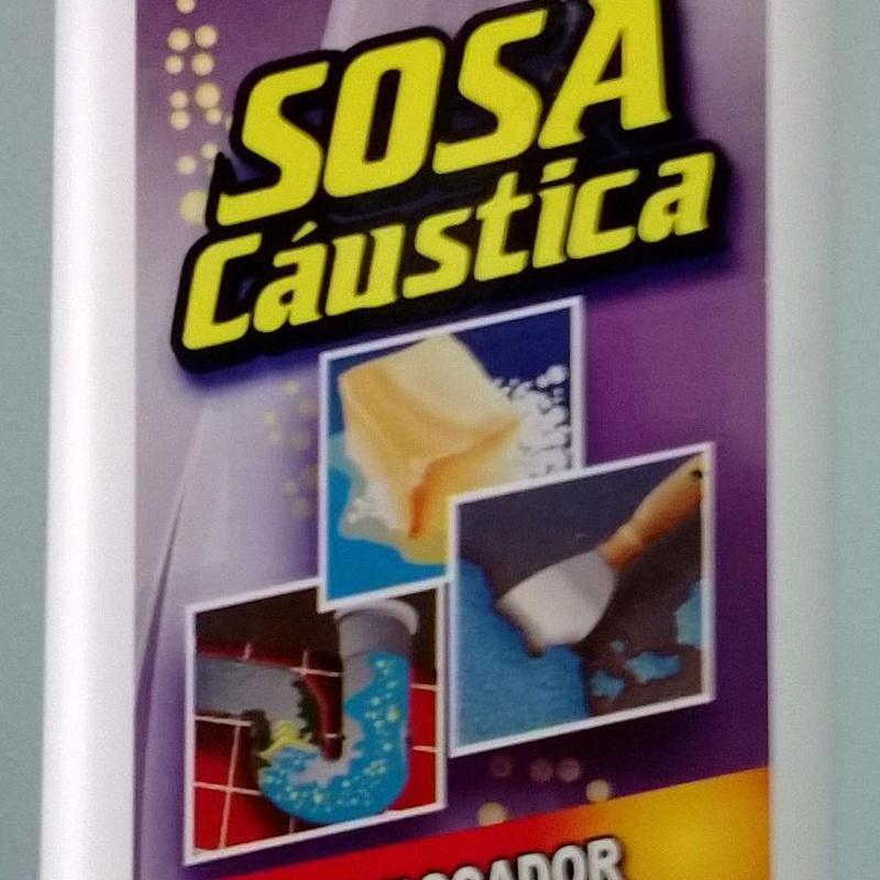 SOSA CAUSTICA EN MICRO PERLAS  1KG : SERVICIOS  Y PRODUCTOS de Neteges Louzado, S.L.