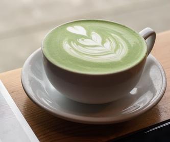 Te blanco: Productos de Kin+Ilk Café