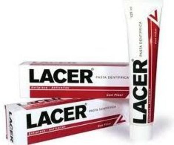 Pasta de dientes Lacer: Catálogo de Farmacia Las Cuevas-Mª Carmen Leyes
