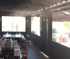 terraza climatizada
