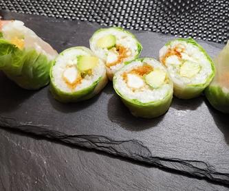 Fórmula 2: Platos de My Sushi