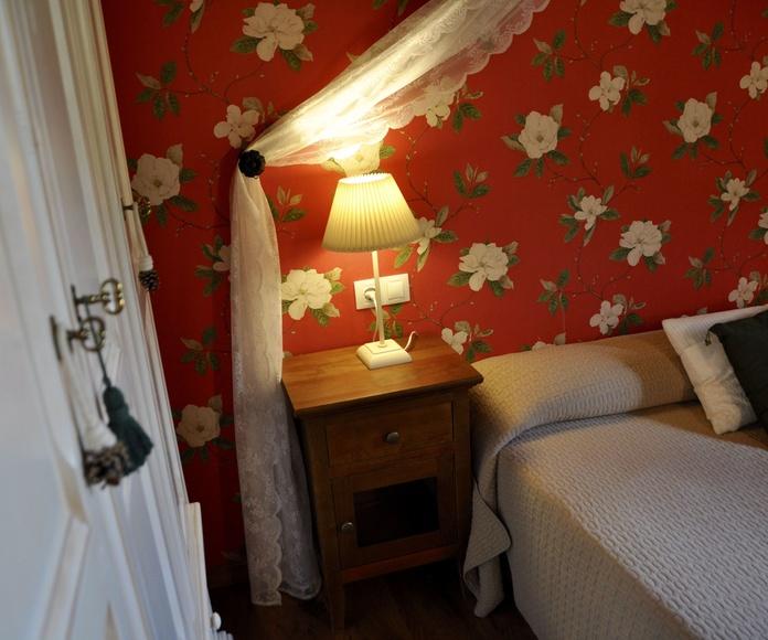 Dormitorio apartamento Ordesa.