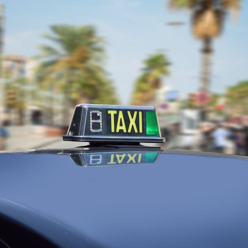 Servicio a hospitales: Servicios de Taxi Ortega