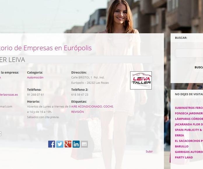 Directorio de Empresas en Európolis