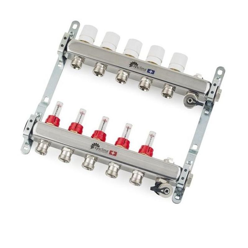 "Colector Inox 1"" c. Caudalímetro ICL 3 S: Serveis de Instal·lacions i Serveis Santi Anco"